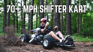 Homemade Shifter Kart Return!