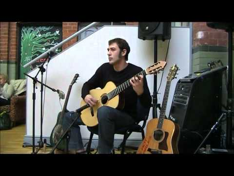 Aidan Marshall playing Canco del Lladre by Miguel Llobet on AJLucas radial guitar