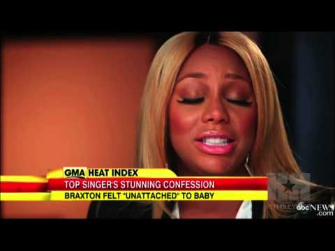 Tamar Braxton Introduces Baby Logan - HipHollywood.com
