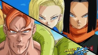 DBZ Kai - Z Fighters VS Androids 17 and 18 (Re-Upload)