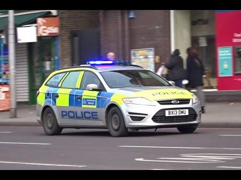 London Metropolitan Police Dog Unit Responding