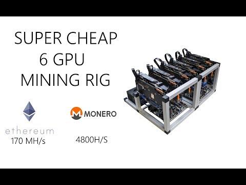 Super cheap GPU mining rig! April 2018