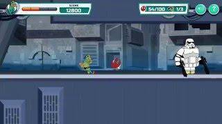 Games: Phineas and Ferb (Star Wars) - Agent P: Rebel Spy LEVEL:1