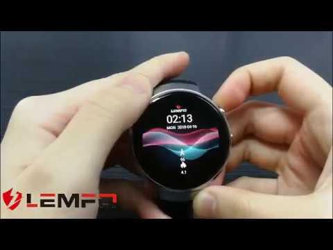 LEMFO LEM7 MT6737M 4G LTE Smartwatch Android 7.0
