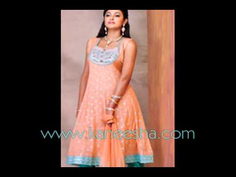 Churidar Kurta Indian Trends, Frock Style Churidar Dress