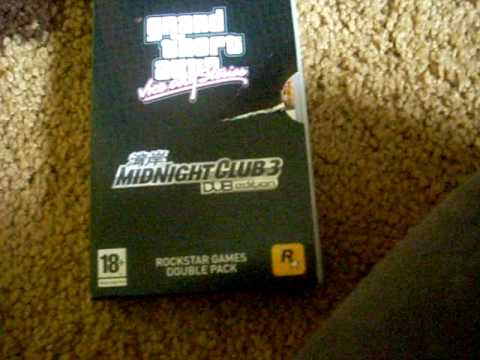 Rockstar Games Double Pack - PSP - Unboxing