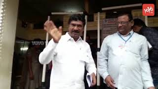 TRS Thatikonda Rajaiah at Warangal Vote Counting Center | Telangana Results 2018