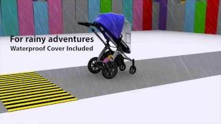 Ickle Bubba Stomp V2 All In One Travel System Promo Video
