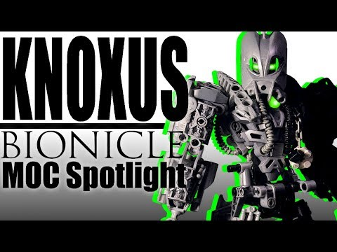 MOC Spotlight - Knoxus (BIONICLE MOC Review)