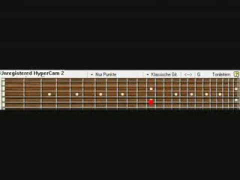 Jerryc Canon Rock Guitar Pro 5 Tabs video