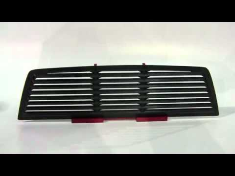 Truck Rear Window Louver From