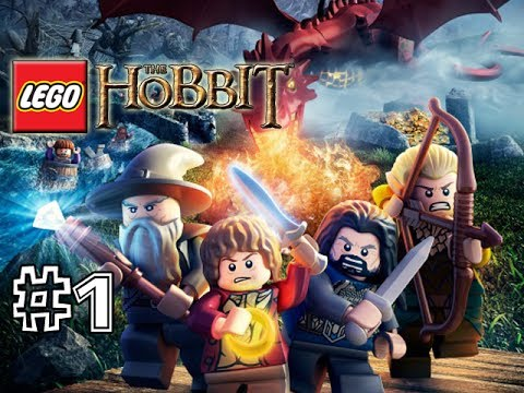 LEGO THE HOBBIT VIDEOGAME - PART 1 (GAMEPLAY WALKTHROUGH) (HD...
