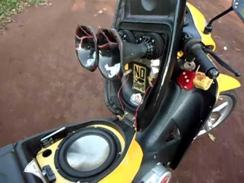 Som Moto Biz Honda Biz Som