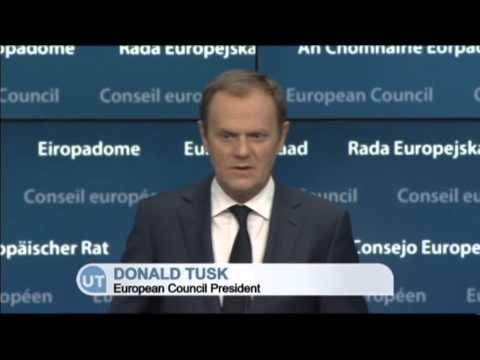 EC President Donald Tusk: Europe will bring new measures against Russia if necesary