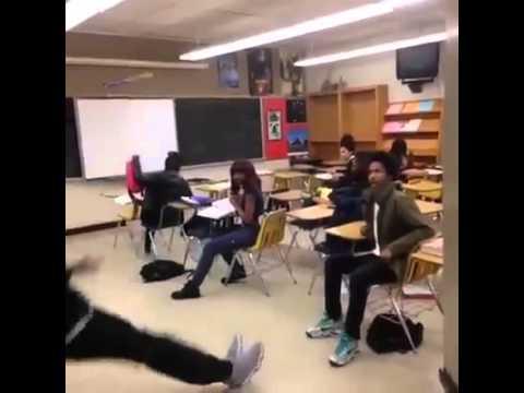 When someone wearing fake Jordans