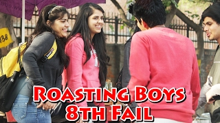 Roasting Boys in Public - 8th Fail Prank - Most Funny Prank | THF - Ab Mauj Legi Dilli