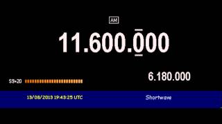 Radio Libya (Sabrata, Libya) - 11600 kHz