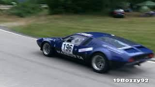 De Tomaso Mangusta Great V8 Sound On Hillclimb
