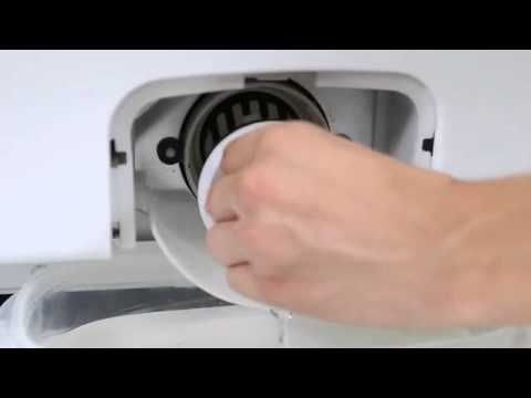 Front Load Washer Pump Clean Out Youtube