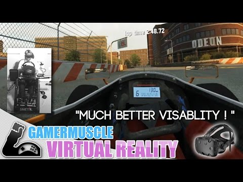 HTC VIVE  Review  - Live for speed & Driving simulators in Virtual Reality - Talk & Drive
