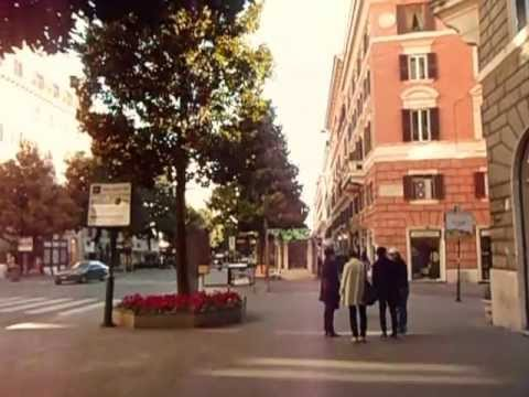 Rome Italy Side Streets Amp Termini Station Youtube