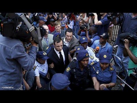 Oscar Pistorius leaves prison in Pretoria