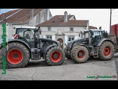 Fendt 939 & 933 Vario Black Beauty | Transport de Fumier | Loagri-JDmoitrackHD