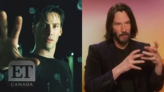 Keanu Reeves Talks 'Matrix 4'