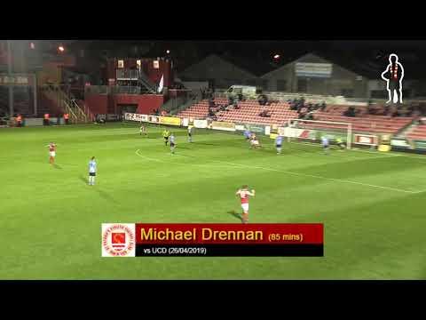 Goal: Mikey Drennan (vs UCD 26/04/2019)