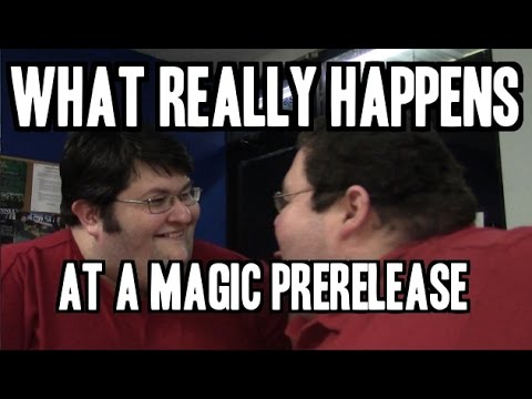 Messing Around at a Magic: 2015 Prerelease!