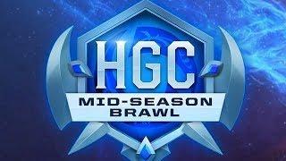 HGC 2018 - Mid-Season Brawl - Playoffs Day 1 - West vs. East Game 3