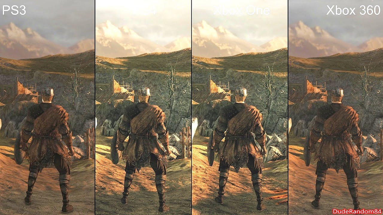 Souls Ps3 Dark Souls 2 Ps4 vs Ps3 vs