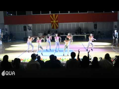 AQUA | AQUACAT DOLLS & the WHITE NIGGAS | 1st Place Reggaeton@ Macedonia Open 2013
