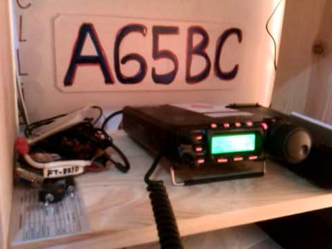 A65BC Edgar  Abu Dhabi qso with  VU3RAZ Rahul of India