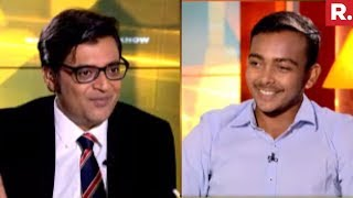 Prithvi Shaw On Nation Wants To Know With Arnab Goswami   Full Interview