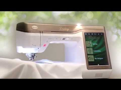Introducing the Baby Lock Destiny Sewing and Embroidery Machine
