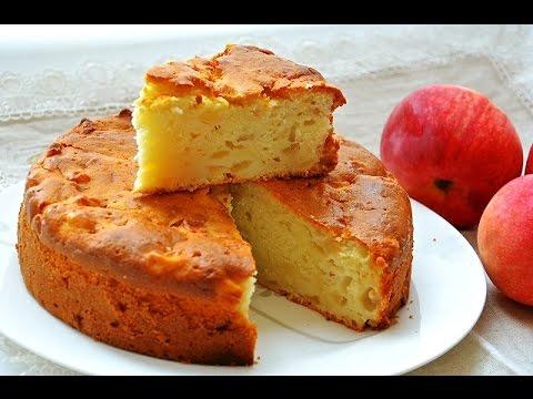 Простой рецепт пирога шарлотка