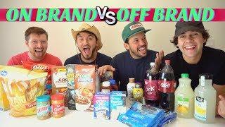 Download Lagu NAME BRAND vs GENERIC FOOD!! (Blind Taste Test) Gratis STAFABAND