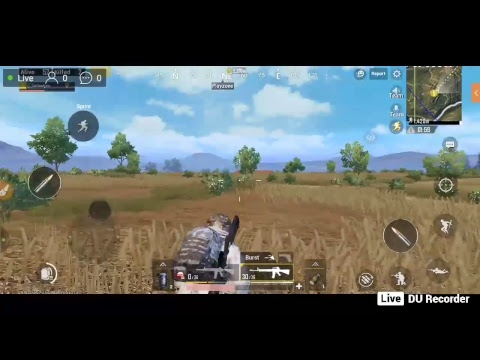 PUBG Mobile game streaming 1st tyme