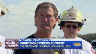 5 Injured in High Wire-Circus Accident