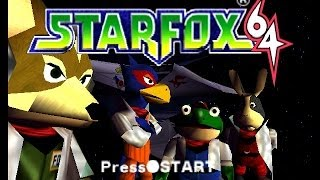 Star Fox 64 All Boss Battles HD