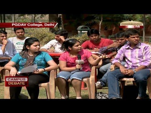 Campus Debate - PGDAV College (New Delhi)