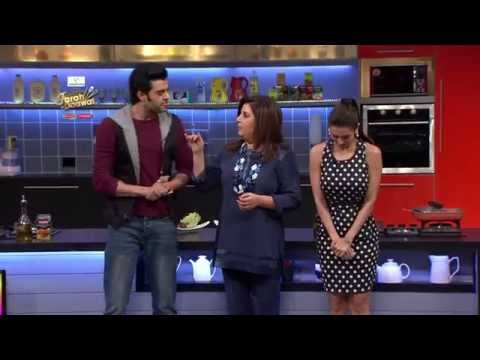 Behind the scenes with Malaika Arora Khan on Videocon Farah Ki Daawat