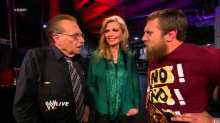 Daniel Bryan seeks Larry King's advice about his looks: Raw, Oct. 1, 2012