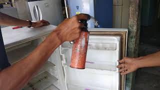 Cara memperbaiki karet pintu kulkas yang keras