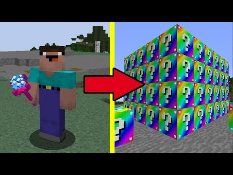 НУБ ПРОТИВ РАДУЖНЫХ ЛАКИ БЛОКОВ В МАЙНКРАФТ ! Мультик Майнкрафт Minecraft