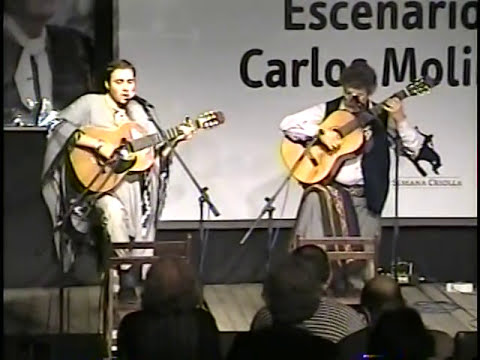 Payada de contrapunto Juan Carlos Lopez y Emanuel Gabotto