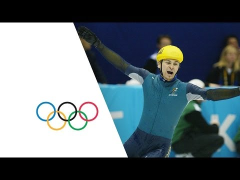 The Most Unexpected Gold Medal In History - Steven Bradbury   Salt Lake 2002 Winter Olympics