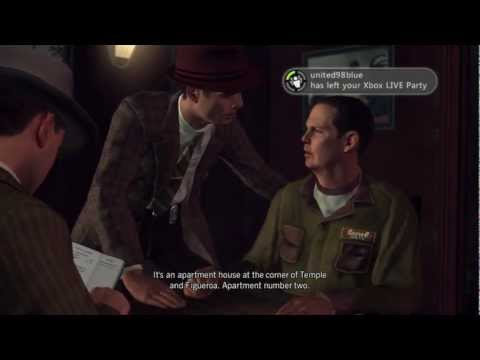 LA Noire Walkthrough Case 5 Part 3