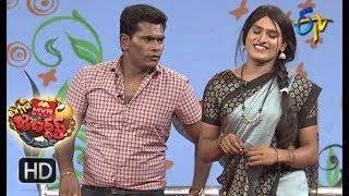 Chammak Chandra Performance | Extra Jabardasth | 13th April 2018   | ETV Telugu